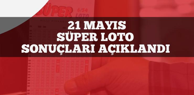 21 Mayıs 2020 Süper Loto Sonuçları Açıklandı