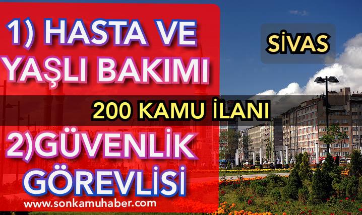 Sivas Cumhuriyet Üniversitesi 200 Kamu Personeli Alımı