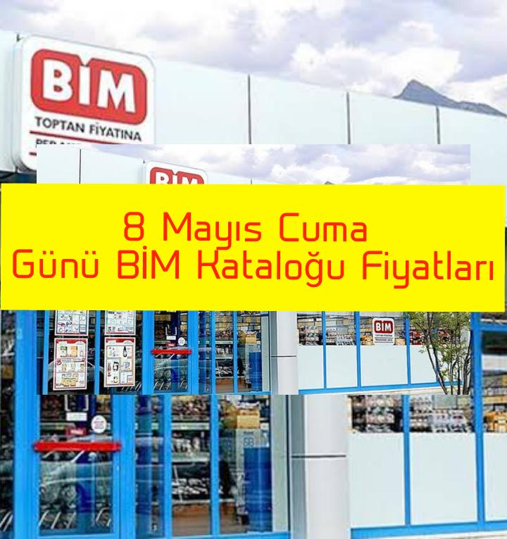 8 Mayıs Cuma Günü BİM Kataloğu Fiyatları..