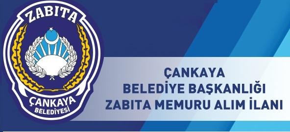 Ankara Çankaya Belediye Resmi Sitesinde Zabıta Memuru Alımı Olacağını Duyurdu