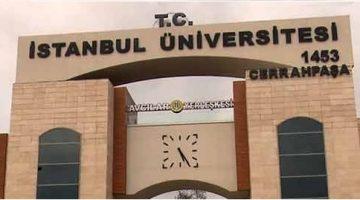 İstanbul Üniversitesi Temizlik Görevlisi alımına son 2 gün