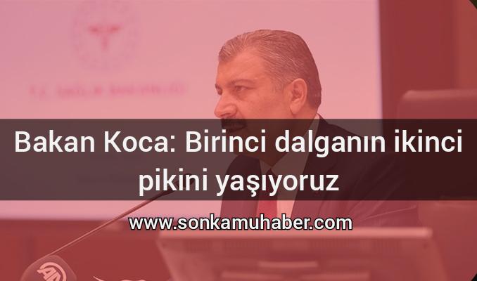 Sağlık Bakanı Fahrettin Koca: Basın toplantısı düzenledi