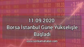 Borsa İstanbul günü  yükselişle 1.102 puanla açıldı