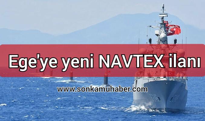 Türkiye ; Ege'ye yeni NAVTEX ilan etti
