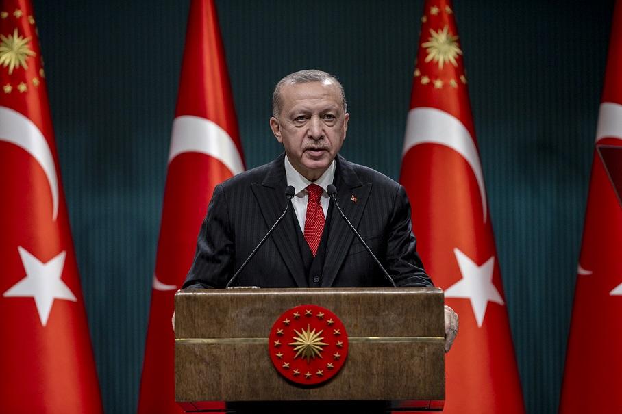 Cumhurbaşkanı Erdoğan koronavirüs kısıtlamalarını açıkladı